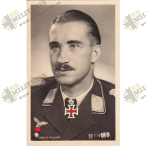 Foto Postkarte Adolf Galland-0