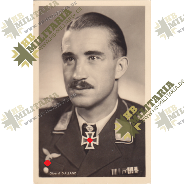 Foto Postkarte Adolf Galland-0