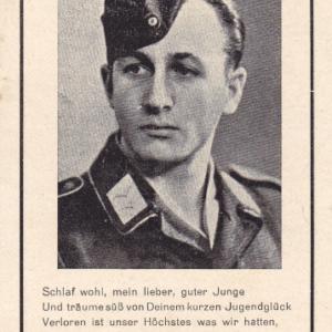 Sterbebild Obergefreiter Flugzeugführer-0