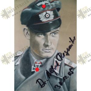 Fotopostkarte Dr. Alfred Regeniter. Original Signatur-0