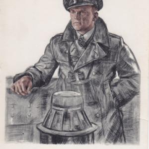 Foto Postkarte Kapitänleutnant Schultze-0