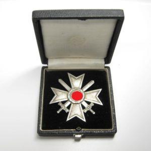 Kriegsverdienstkreuz 1. Klasse im Etui-0