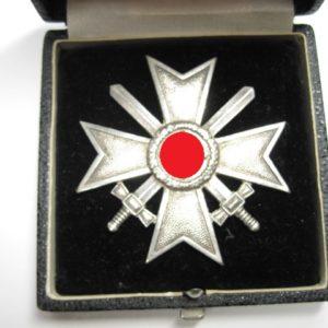 Kriegsverdienstkreuz 1. Klasse im Etui-6802