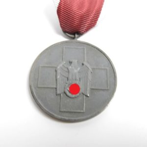 Medaille für deutsche Volkspflege am Band mit Verleihungsurkunde-7064