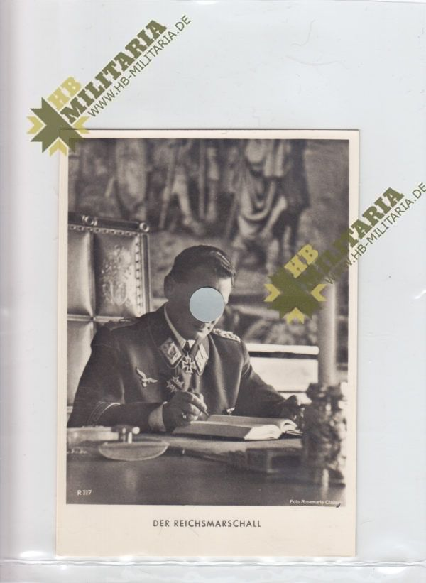 Foto Postkarte Hermann Göring-0