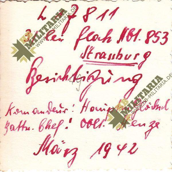 Foto Besichtigung einer Flak Abt.-1034