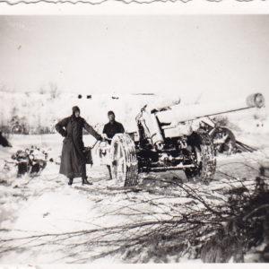 Foto Geschütz Ostfront-0