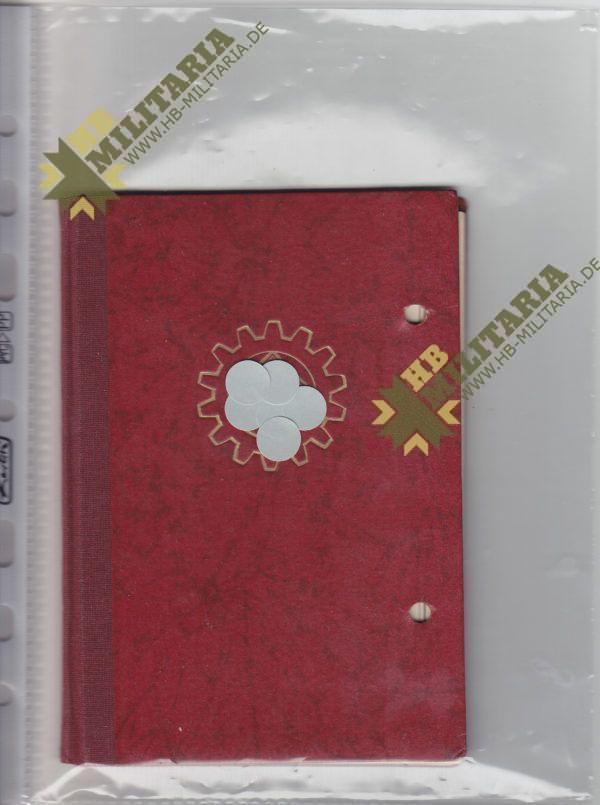 Mitgliedsbuch DAF-0