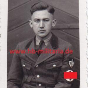 """Foto Portrait Angehöriger vom RAD Thüringen """"Landgraf Hermann"""" Schwarza-0"""