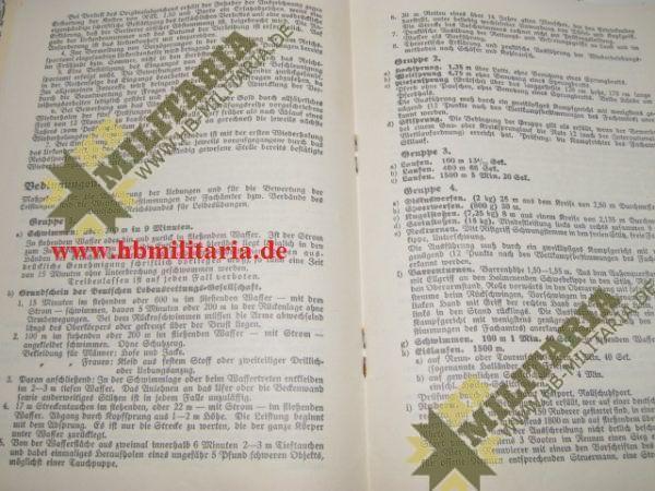 Urkundengruppe für das Reichssportabzeichen-2270