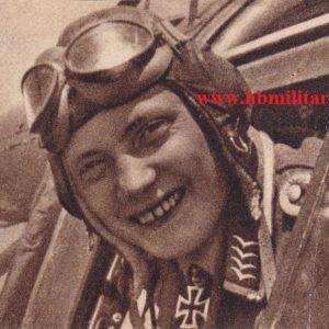 Fotopostkarte Oberleutnant Renz-0