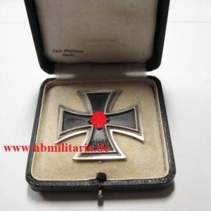 Eisernes Kreuz 1. Klasse im Etui Paul Meybauer-0