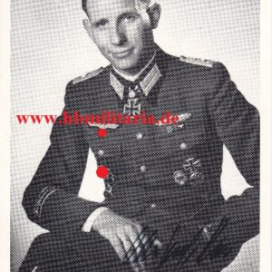 Fotopostkarte Major Ernst Remer-0