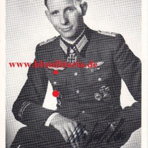 Fotopostkarte Major Ernst Remer-0