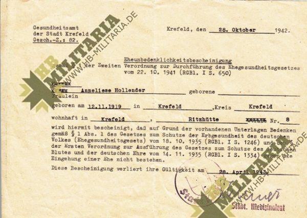 Nachlass eines Obergfefreiten der LW Flak-3318