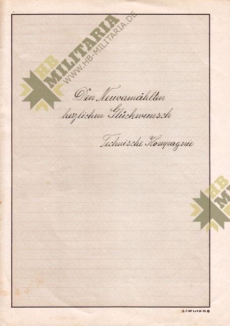 Nachtjagdraumführer 2: Luftwaffenbeobachterschein mit Dokumente und Fotos.-3600
