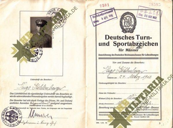 Urkundengruppe eines Oberbefeldwebel-3575