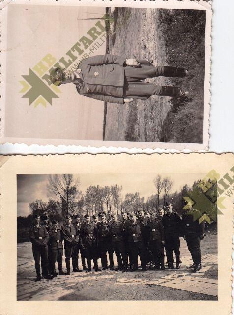 Nachtjagdraumführer 2: Luftwaffenbeobachterschein mit Dokumente und Fotos.-3603