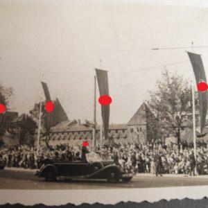 Fotoalbum: ua., Zivil, Wehrmacht, HJ, Reichsparteitag, Foto A. Hitler.-3882