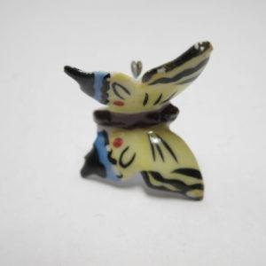 Schmetterling Porzellanabzeichen Schwalbenschwanz-0