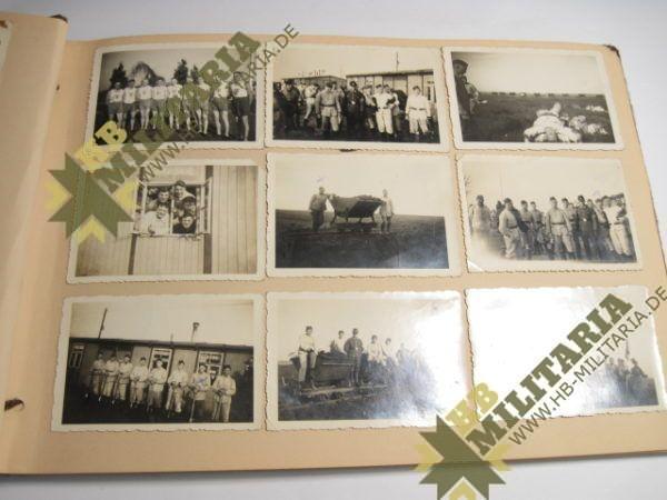 Fotoalbum Reichsarbeitsdienst/ Norwegen/ Kongsberg/ Knutehytta-4216