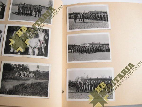 Fotoalbum Reichsarbeitsdienst/ Norwegen/ Kongsberg/ Knutehytta-4223