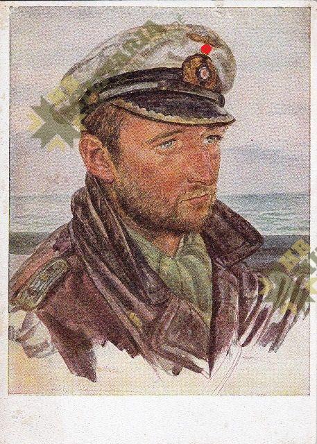 Willrich Kuenstlerkarte Kapitänleutnant Frauenheim-0
