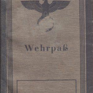 Dokumentennachlaß eines Luftwaffenhelfers in einer Flakbatterie aus dem Raum Oldenburg-4648