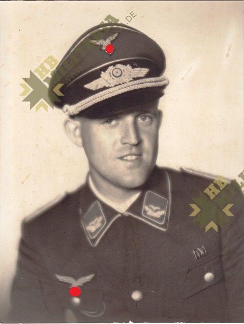 Foto Grossformat Leutnant der Luftwaffe-0