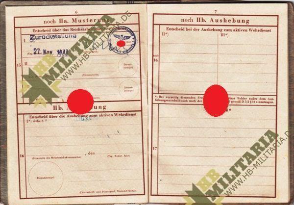 Dokumentennachlaß eines Luftwaffenhelfers in einer Flakbatterie aus dem Raum Oldenburg-4652