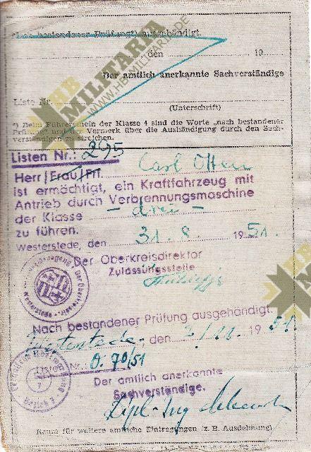 Dokumentennachlaß eines Luftwaffenhelfers in einer Flakbatterie aus dem Raum Oldenburg-4668