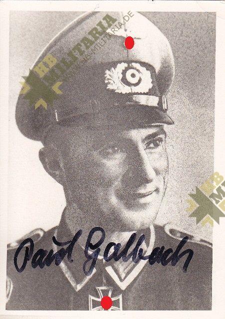 Ritterkreuzträger Paul Golbach-0