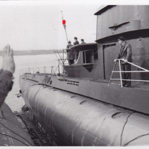 Indienststellung eines U Bootes der Lübecker Flender Werke-0