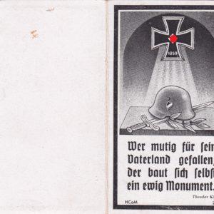 Sterbebild Gebirgsjäger Stalingrad-6200