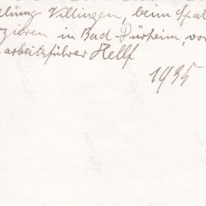 Foto Abteilung Villingen beim Spaten-exerzieren in Bad Dürkheim. Gauarbeitsführer Helf.-6073