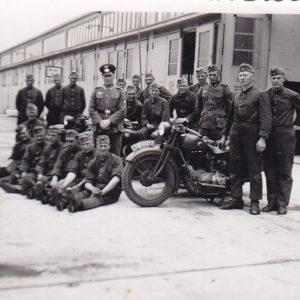 Foto Wehrmacht Krad Fahrschule-0
