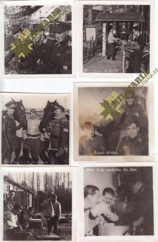 8x Truppeninterne Fotos der Aufklärungsgruppe 4. (H) 14 Münchhausen -0