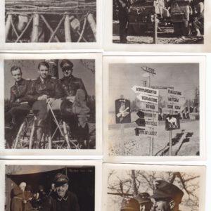 8x Truppeninterne Fotos der Aufklärungsgruppe 4. (H) 14 Münchhausen -6254