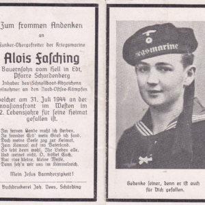 Sterbebild Angehöriger der Kriegsmarine-0