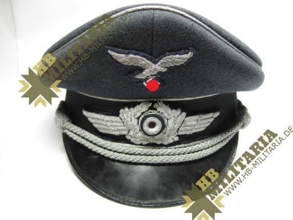 Luftwaffe Schirmmütze für Offiziere- VERKAUFT-6092