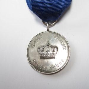 Preußen Dienstauszeichnung für Unteroffiziere und Mannschaften Medaille für IX Jahre-6409