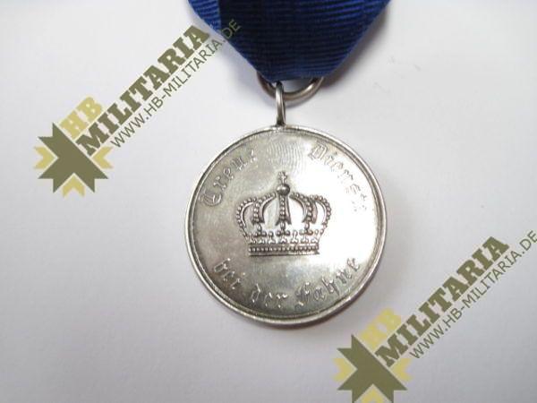 Preußen Dienstauszeichnung für Unteroffiziere und Mannschaften Medaille für IX Jahre-6412