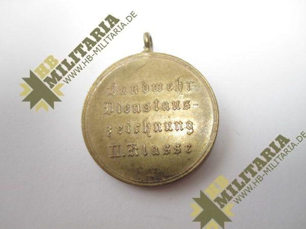 Preußen Landwehr Dienstauszeichnung 2. Klasse-6417