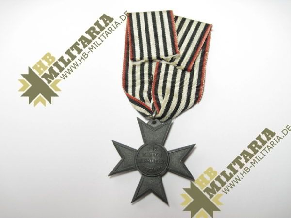 Kriegshilfe Verdienstkreuz am originalen Band-6477