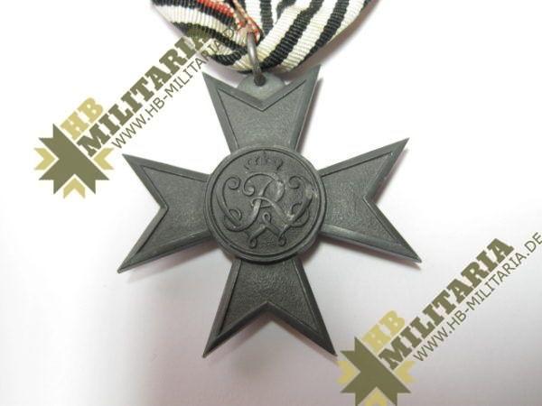 Kriegshilfe Verdienstkreuz am originalen Band-6476