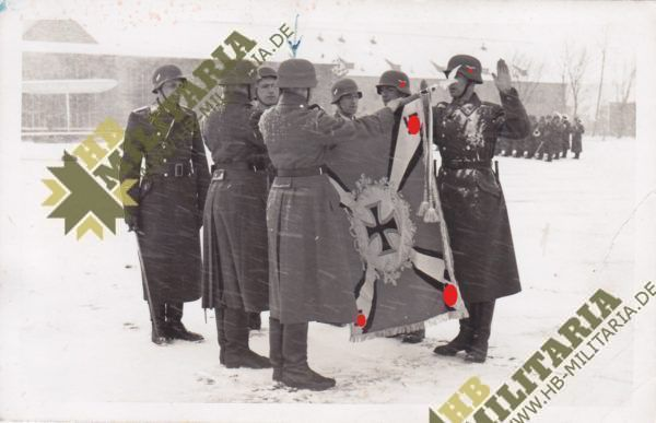 5x Fotos Luftwaffe Vereidigung-6634