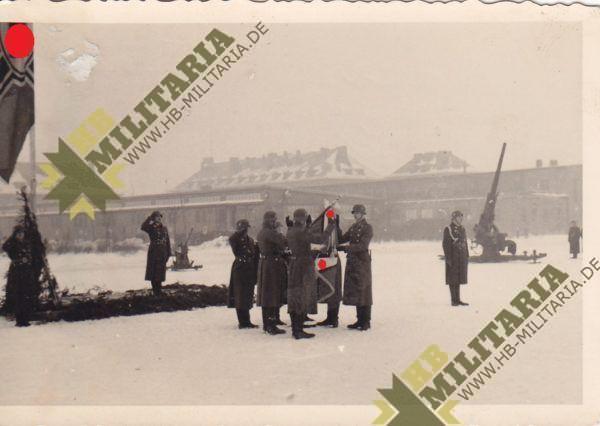 5x Fotos Luftwaffe Vereidigung-6637