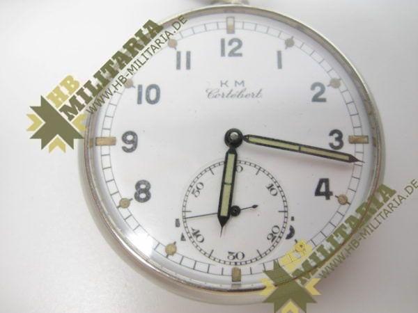 Kriegsmarine: Cortibert Beobachter- Uhr.-6643