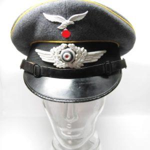 Luftwaffe Schirmmütze der Fliegertruppe für Mannschaften- VERKAUFT-0
