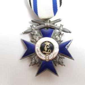 Bayern: Militärverdienstorden, Kreuz der 4 Klasse mit Schwertern mit Expertise.-0